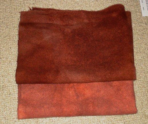 MAHOGANY DUO wool for rug hooking -- Woolly Mammoth Woolens