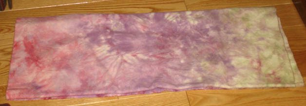 Organza transcolor wool for rug hooking -- Woolly Mammoth Woolens