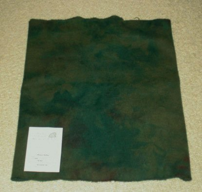 DEEP SEA GREEN wool for rug hooking -- Woolly Mammoth Woolens
