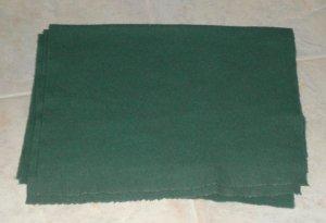 PINE TREE GREEN as is wool for rug hooking -- Woolly Mammoth Woolens