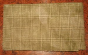 MARSHLANDS PLAID overdye wool for rug hooking and penny rugs -- Woolly Mammoth Woolens