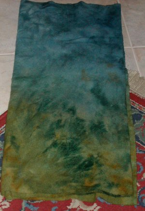 LAND AND SEA overdye wool for rug hooking and penny rugs -- Woolly Mammoth Woolens