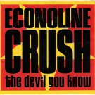 ECONOLINE CRUSH The Devil You Know Sticker From Concert 90's Alternative Band FREE SHIPPING Rare