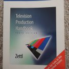 TELEVISION PRODUCTION HANDBOOK Tenth Edition FREE SHIPPING Herbert Zettl International