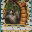 SORCERERS OF THE MAGIC KINGDOM Disney Spell Card BALOO'S COCONUT CASCADE #42 FREE SHIPPING World