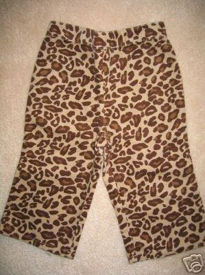 NWT Gymboree Teacher's Pet leopard pants 12-18 new