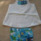 NWT Gymboree Pool Party bloomers swing top set 12-18
