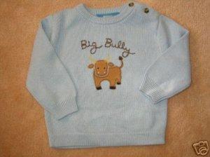 NWT Gymboree Wild West Big Bully sweater 3-6 new