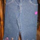 NWT Gymboree Glamour Princess jeans denim capri pants 5
