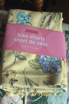 NWT Gymboree Bonjour Provence yellow shorts 5 new