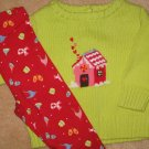 NWT Gymboree Sugar and Spice sweater leggings set 3-6