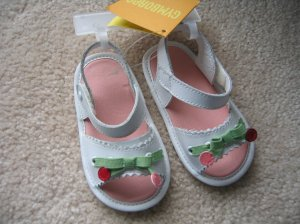 NWT Gymboree Sweet Cherries sandals shoes 3 03 9-12 new