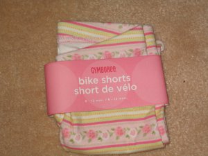 NWT Gymboree Garden Bloom bike shorts 6-12 new