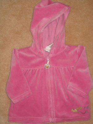 NWT Gymboree Trail Mix velour hoodie jacket 6-12 new
