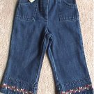 NWT Gymboree Strawberry Patch Jeans denim pants 18-24