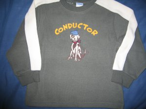 NWT Gymboree All Aboard conductor sweater 2T  new