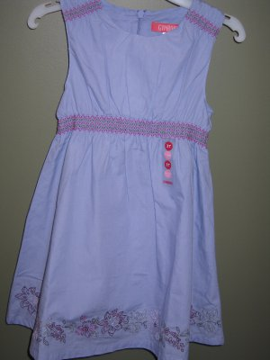 NWT Gymboree Romantic Garden blue dress 2T  new