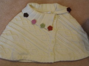 NWT Gymboree Rocky Mountain capelet sweater 5 6 new