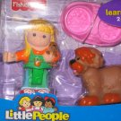 NIB Little People Shopkeeper Susan and Sheepdog figures new