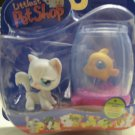 New Littlest Pet Shop cat clown fish Nemo 129 130