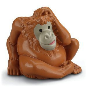 New Little People Zoo Talkers Orangutan animal