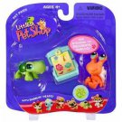 New Littlest Pet Shop Crab and Turtle set 187 188