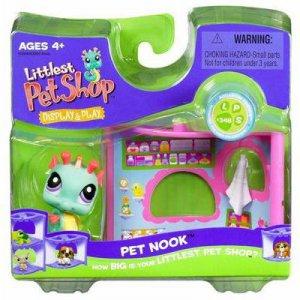 New Littlest Pet Shop Seahorse and pet nook 348 NIB