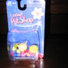 New Littlest Pet Shop single Turtle with food carrots 7