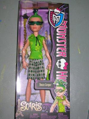 New Monster High Scaris Deuce Gorgon doll
