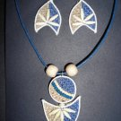 Organic fashion jewelry made with eco friendly jute