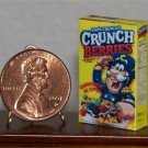 Dollhouse Miniature Cap'n Crunch Berries Cereal Grocery