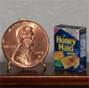 Dollhouse Miniature Grocery Graham Crackers Food 1:12
