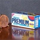 Barbie Bratz GI Joe Miniature Food Saltine Crackers 1:6