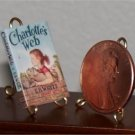 Dollhouse Miniature Book Charlotte's Web EB White 1:12