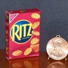 Barbie Bratz GI Joe Miniature Food Ritz Crackers 1:6