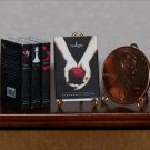 Dollhouse Miniature Twilight Books Stephanie Meyer 1:12