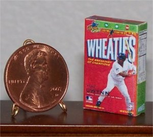 Dollhouse Miniature Grocery Wheaties Cereal Food 1:12
