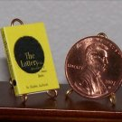 Dollhouse Miniature Book The Lottery by Shirley Jackson
