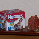 Dollhouse Miniature Huggies Baby Toddler Diapers 1:12