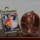 Dollhouse Miniature Nancy Drew The Bungalo Mystery 1:12