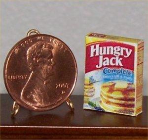 Dollhouse Miniature Grocery 1:12 Pancake Mix Box Food
