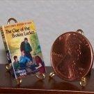 Dollhouse Miniature Nancy Drew Clue ofthe Broken Locket