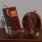 Dollhouse Miniature Book 1974 Carrie Stephen King 1:12