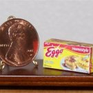 Dollhouse Miniature Eggo Frozen Waffles Food Grocery