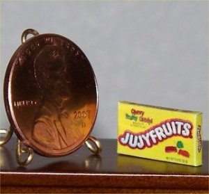 Dollhouse Miniature Grocery 1:12 Jujyfruits Candy Food