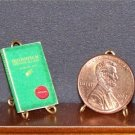 Dollhouse Miniature Book Quidditch Through the Ages