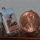 Dollhouse Miniature Book The Stand by Stephen King 1:12