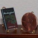 Dollhouse Miniature To Kill a Mockingbird by Harper Lee
