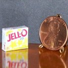 Barbie Bratz GI Joe Miniature Food Lemon Jello 1:6 Box