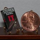 Dollhouse Miniature Book Novel IT by Stephen King 1:12